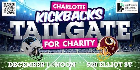 Charlotte Kickbacks Charity Tailgate tickets