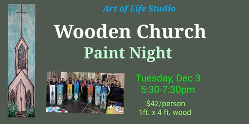 Paint Night: Wooden Church