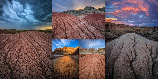 Landscape Photography Masterclass: Badlands National Park April 2020