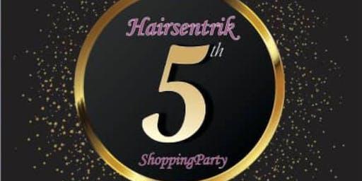 Hairsentrik at 5(Shopping Party)