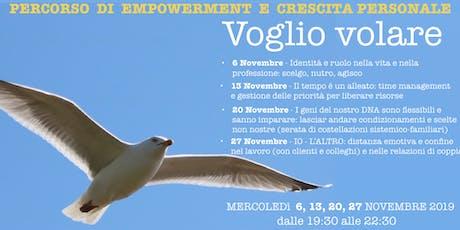 Voglio Volare - Percorso di empowerment e crescita personale biglietti