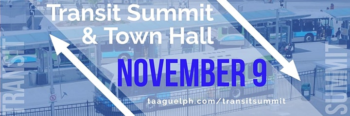 Transit Summit and Town Hall image
