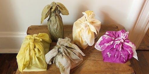 Handmade Holidays  with Natural Dye Furoshiki