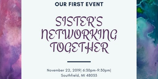 Sister's Networking Event