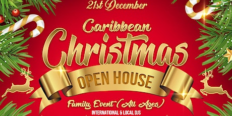 Caribbean Christmas Open House tickets