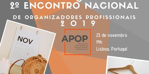 2º Encontro Nacional de Organizadores Profissionais 2019
