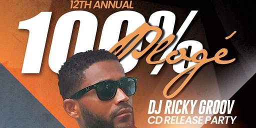 100% Plogé 12 - DJ Ricky Groov CD Release Party