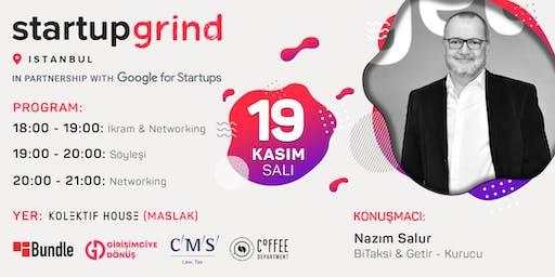 Nazım Salur (Getir), Startup Grind'a Konuk Oluyor!