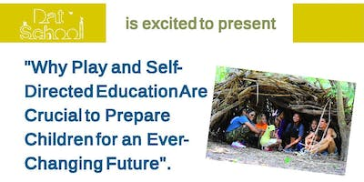 Dat School presents a lecture about Self-Directed Education by Peter Gray