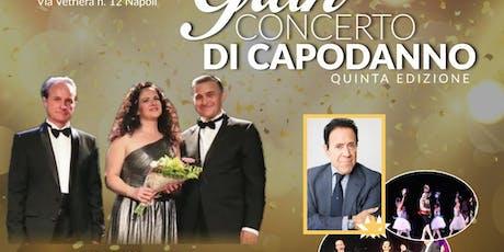 Gran Concerto di Capodanno 2020 V Edizione Teatro delle Palme biglietti