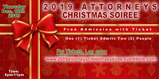 Attorneys 2019 Christmas Soiree