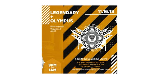 Legendary x Olympus Official Party