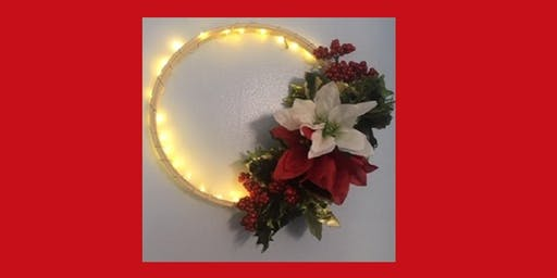 Light-Up Holiday Wreath