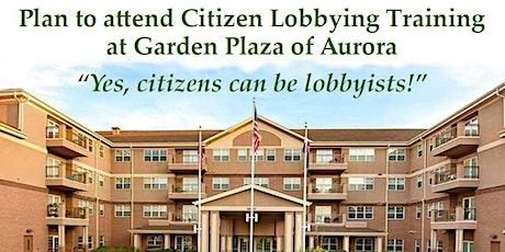 Citizen Lobbying Training tickets