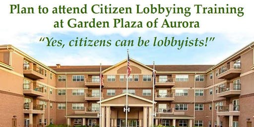 Citizen Lobbying Training