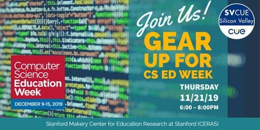 Gear Up for CS Ed Week