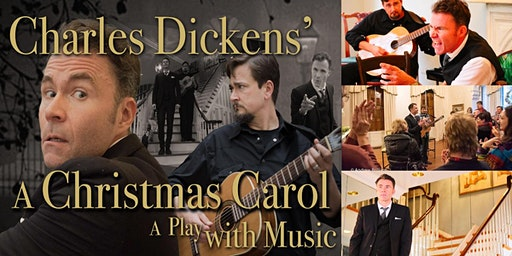 """Charles Dickens' """"A Christmas Carol"""" Interactive Theatrical Experience"""