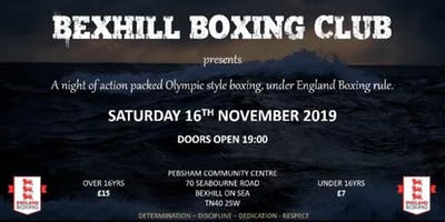 Bexhill Boxing Club Open Show - November 16th 2019