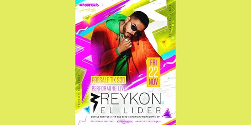 Reykon El Lider  Perfroming Live Inside at Rumba Room Live 21+