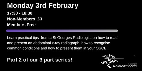 RadSoc Revision Series: How to read a Abdominal X-ray tickets