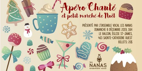 Apéro chanté et petit Marché de Noël billets
