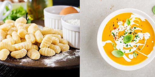 RevelyCooking Class  Series with Chef Rosa Provoste: Gnocchi & Pumpkin Soup
