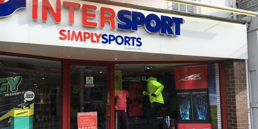Run & Christmas Shop at Simply Sports, Reigate