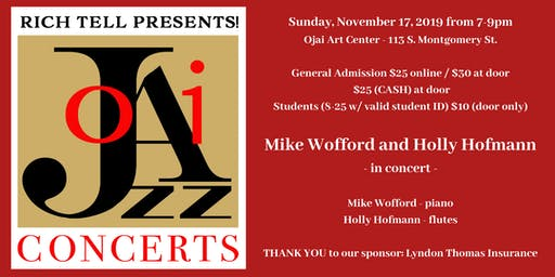 Mike Wofford (Ella Fitzgerald's Pianist) with Jazz Flutist, Holly Hofmann