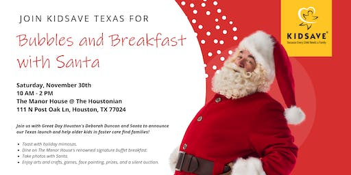 Bubbles and Breakfast with Santa