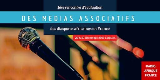 Evaluation des actions des médias associatifs des diasporas en France