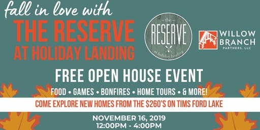 The Reserve at Holiday Landing Fall Open House Event