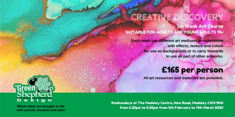 Creative Discovery (Six Week Course for £165) tickets
