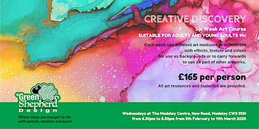 Creative Discovery (Six Week Course for £165)
