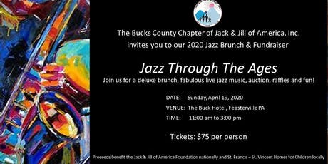 Bucks County Jack and Jill 2020 Jazz Brunch & Fundraiser tickets