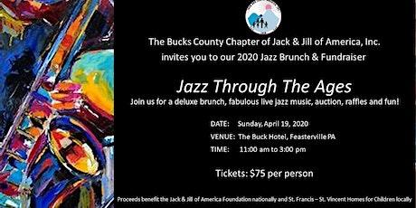Bucks County Jack and Jill 2020 Jazz Brunch & Fundraiser tickets
