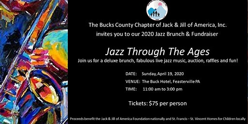 Bucks County Jack and Jill 2020 Jazz Brunch & Fundraiser