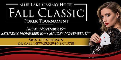 Fall Classic Poker Tournament