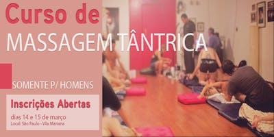 Curso Livre de Massagem Tântrica somente para Homens em São Paulo