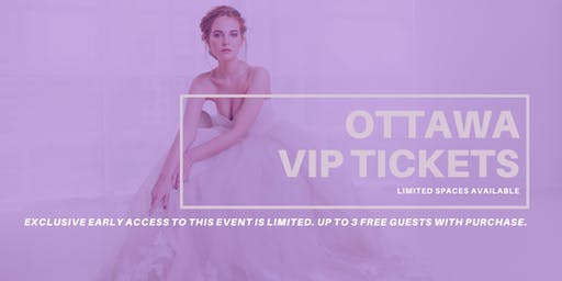 Opportunity Bridal VIP Early Access Ottawa Pop Up Wedding Dress Sale