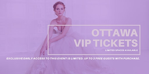 Opportunity Bridal VIP Early Access Ottawa Pop Up Wedding Dress Sale