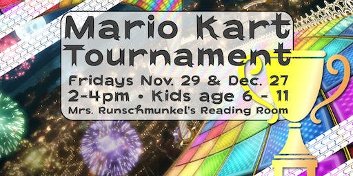 ThanksGAMING: Kids Mario Kart Tournament