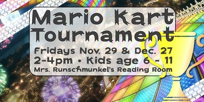 Holiday Edition: Kids MarioKart Tournament