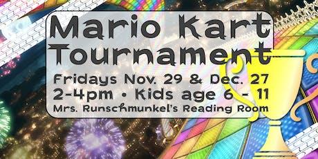 Holiday Edition: Kids MarioKart Tournament tickets