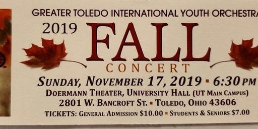 GTIYO Fall Concert