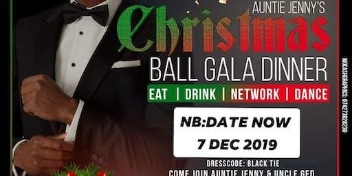 CHRISTMAS GALA BALL DINNER
