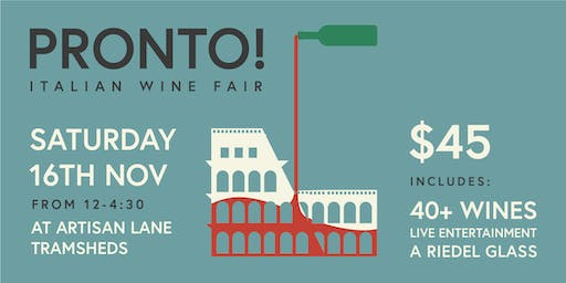 PRONTO! Italian Wine Fair