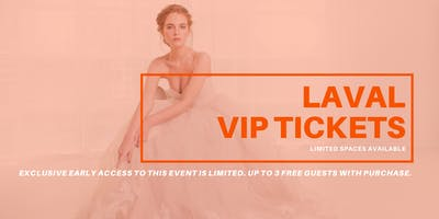 Opportunity Bridal VIP Early Access Laval Pop Up Wedding Dress Sale