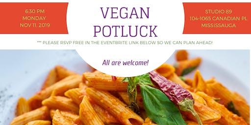 November Vegan Potluck