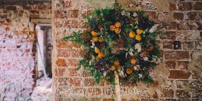 Festive Wreath Workshop by Kathryn Millar @  Ballywalter Park Estate