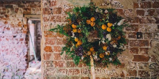 Festive Wreath Workshop by Kathryn Millar @  Ballywalter Park Estate
